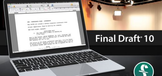 Final Draft 10 on MacOS