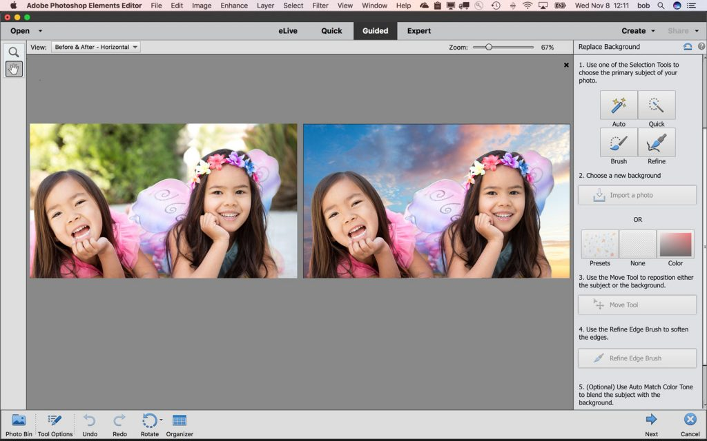 Adobe Photoshop Elements 2018 on Mac