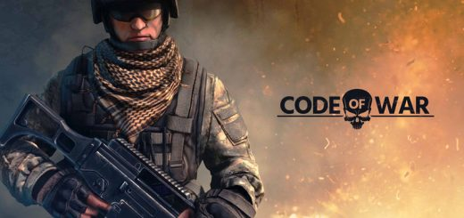 Code of War Game official Logo