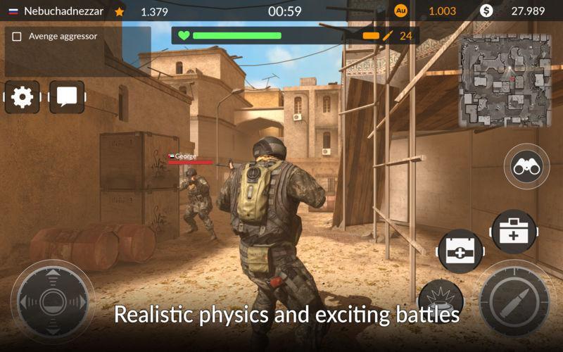 Online multiplayer mode