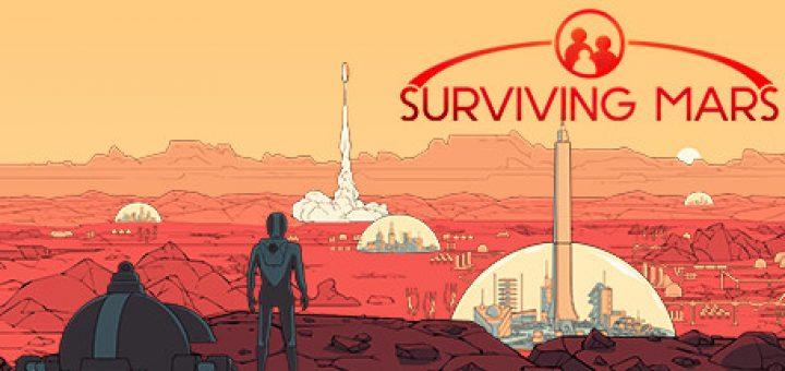Surviving mars game official logo