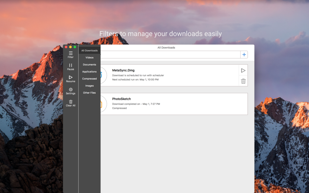 iDownloader For MacOS