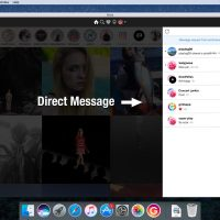 Send Direct Messages on Mac