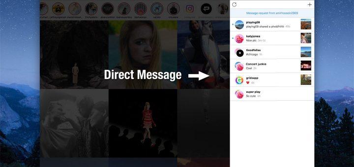 Send direct messages