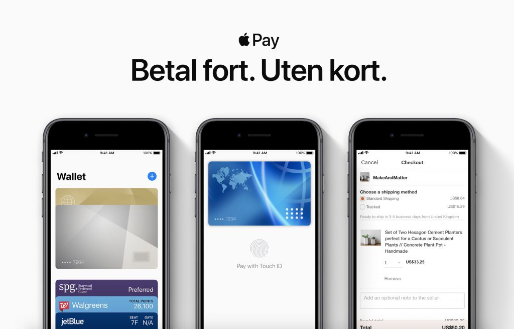 Apple Pay Launches In Norway, Supports Nordea & Santander