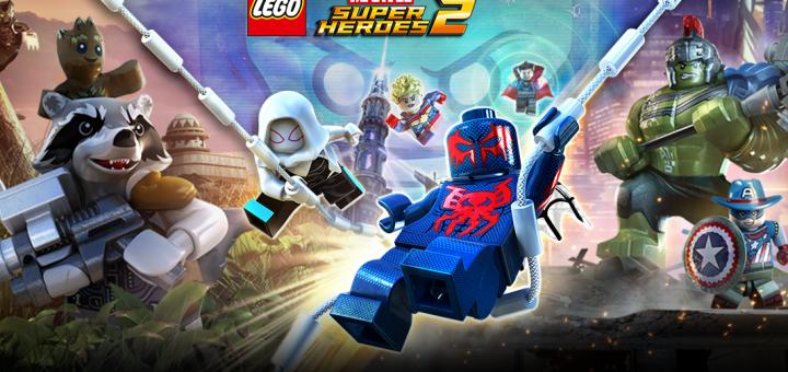 Lego marvel super heroes 2 official logo