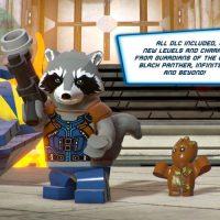 Rocket raccoon with groot game