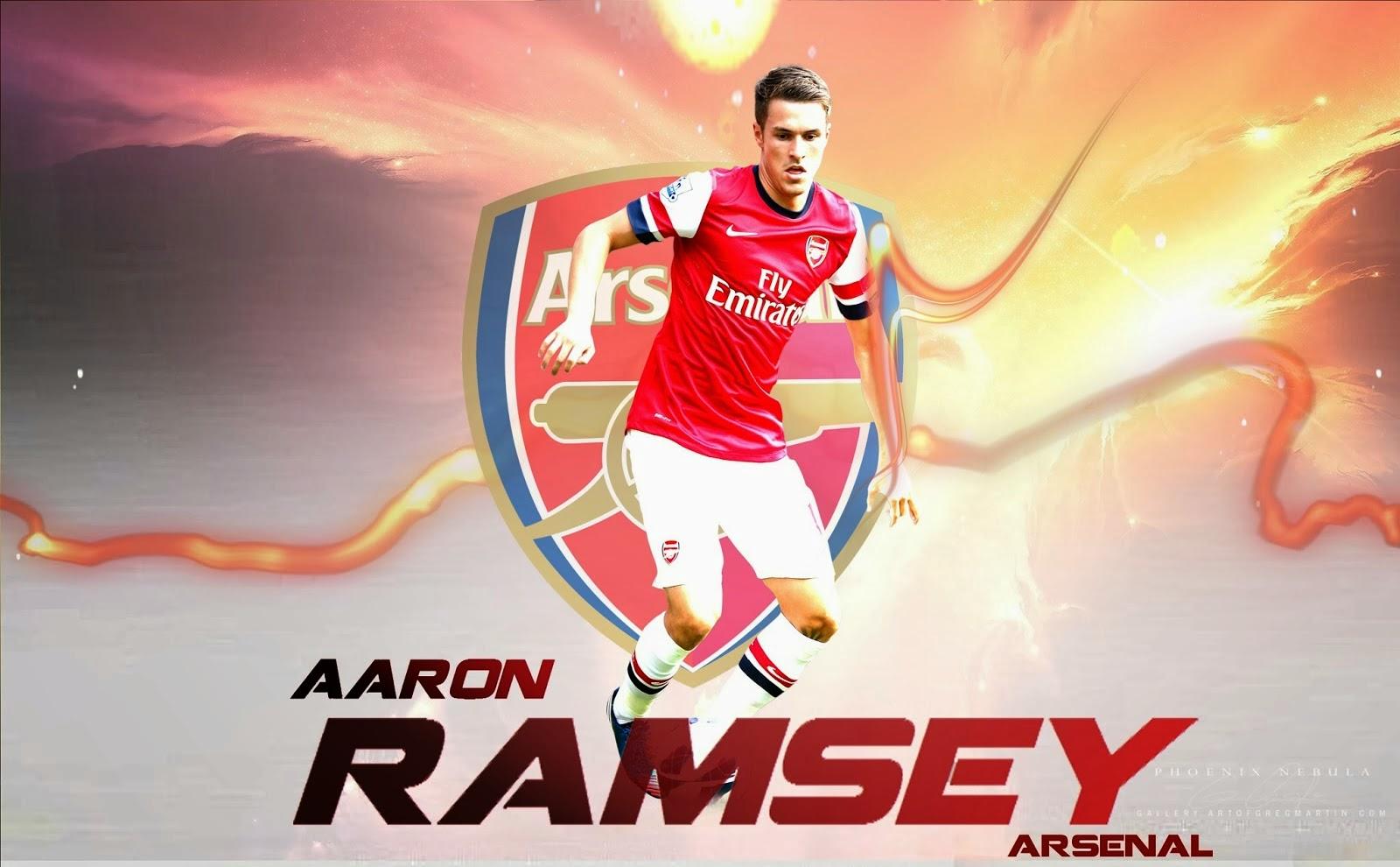 Aaron ramsey arsenal jersey