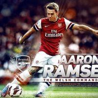 Aaron ramsey hd background