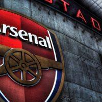 Arsenal logo background