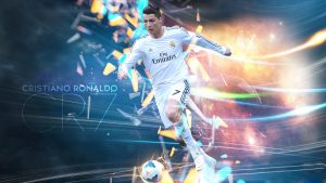 Cristiano ronaldo real madrid background