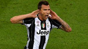 Mario mandzukic celebrates goal