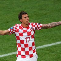 Mario mandzukic for croatia