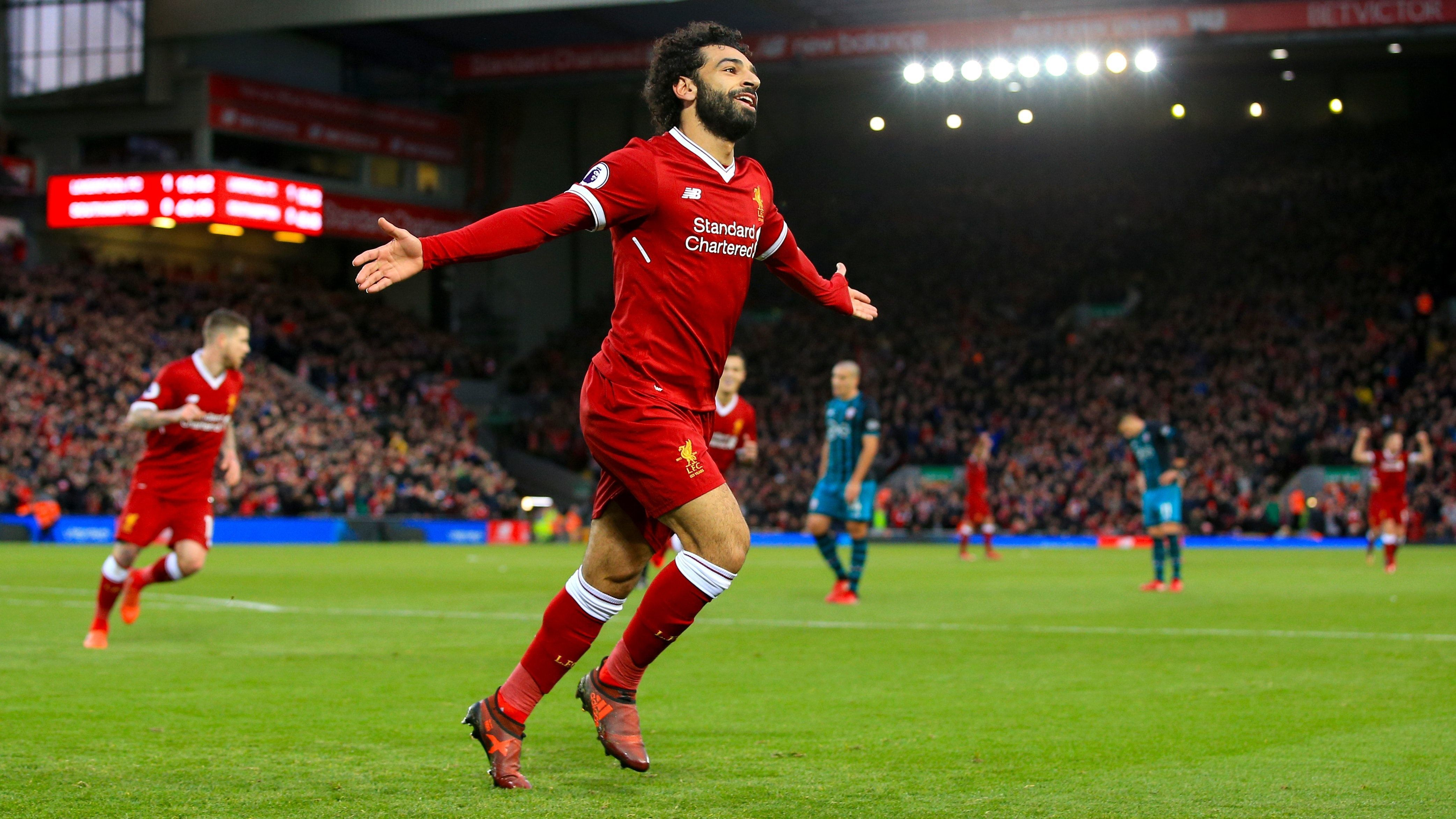 Mohamed salah 4k hd background   Download Liverpool FC Wallpaper   Mac Heat
