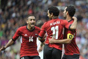 Mohamed salah egypt team