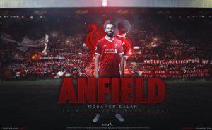Mohamed salah never walk alone