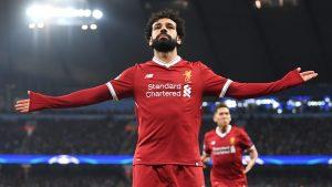 Mohamed salah open arms celebration goal