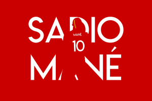 Sadio mane vector background