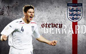 Steven gerrard england national team