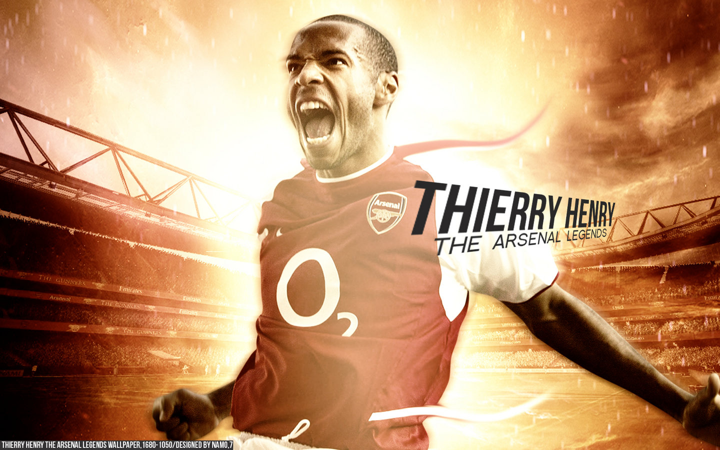 Thierry henry arsenal legend