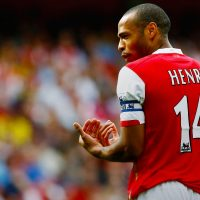 Thierry henry celebrating goal