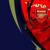 Cool arsenal logo background