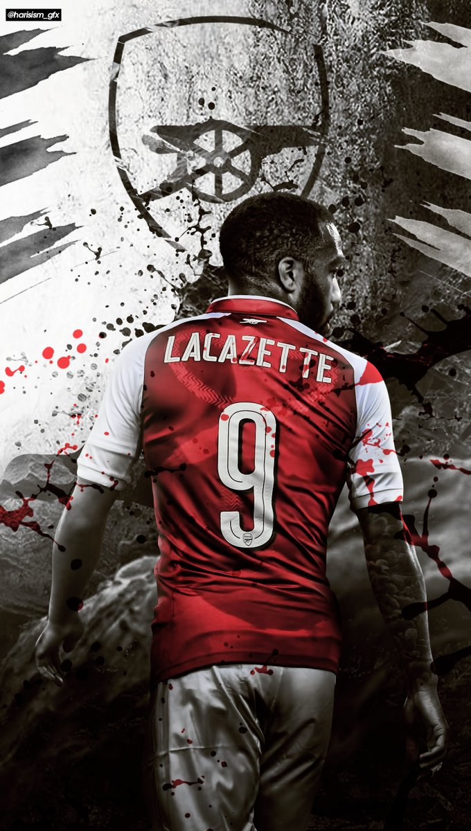 Iphone background with alexandre lacazette