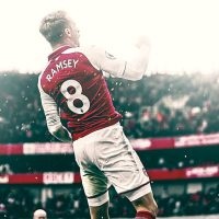 Iphone background with aaron ramsey