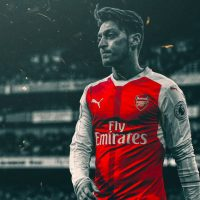 Iphone background with ozil
