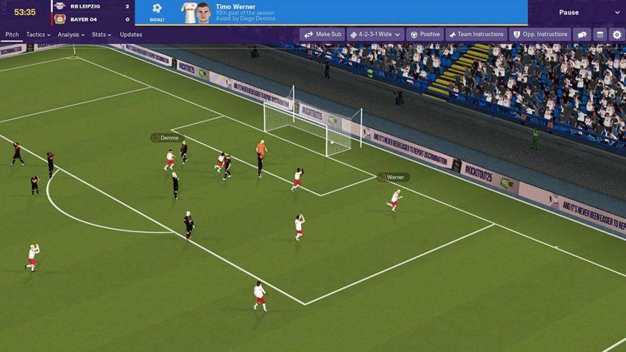 Gameplay graphics fm19