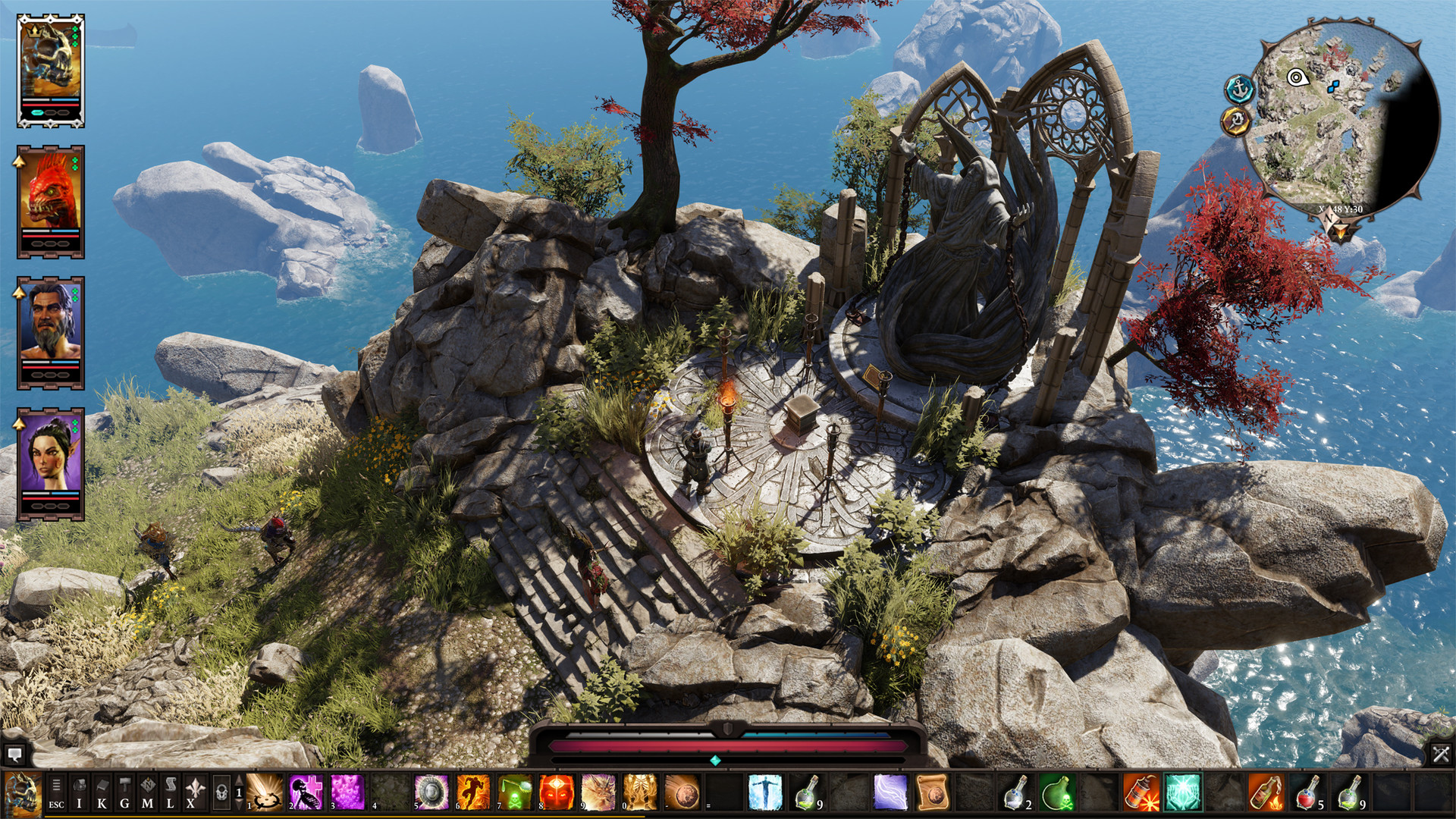 Gameplay graphics of dos2