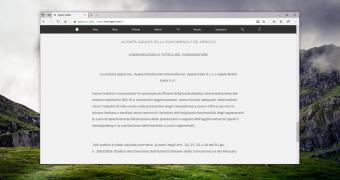 , Apple Posts Mea Culpa on Italian Site After Slowing Down iPhones on Purpose