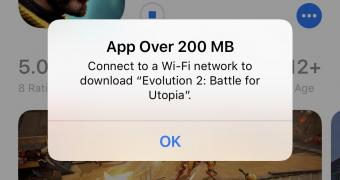 , iPhone Users Can Now Download Larger Apps Over Cellular