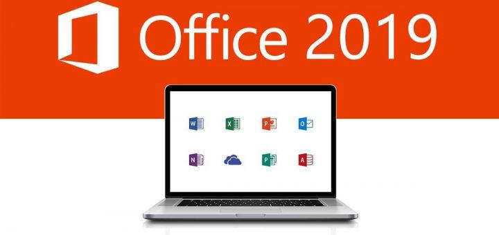 Office 2019 logo macbook