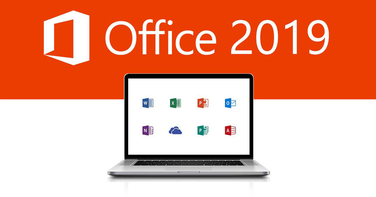 Office 2019 logo macbook