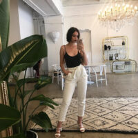 Sabrina claudio selfie with iphone