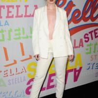 Sabrina claudio white suit