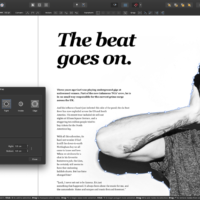 editing text with affinity publisher