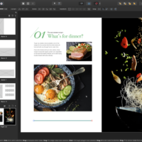 adding graphics with affinity publisher