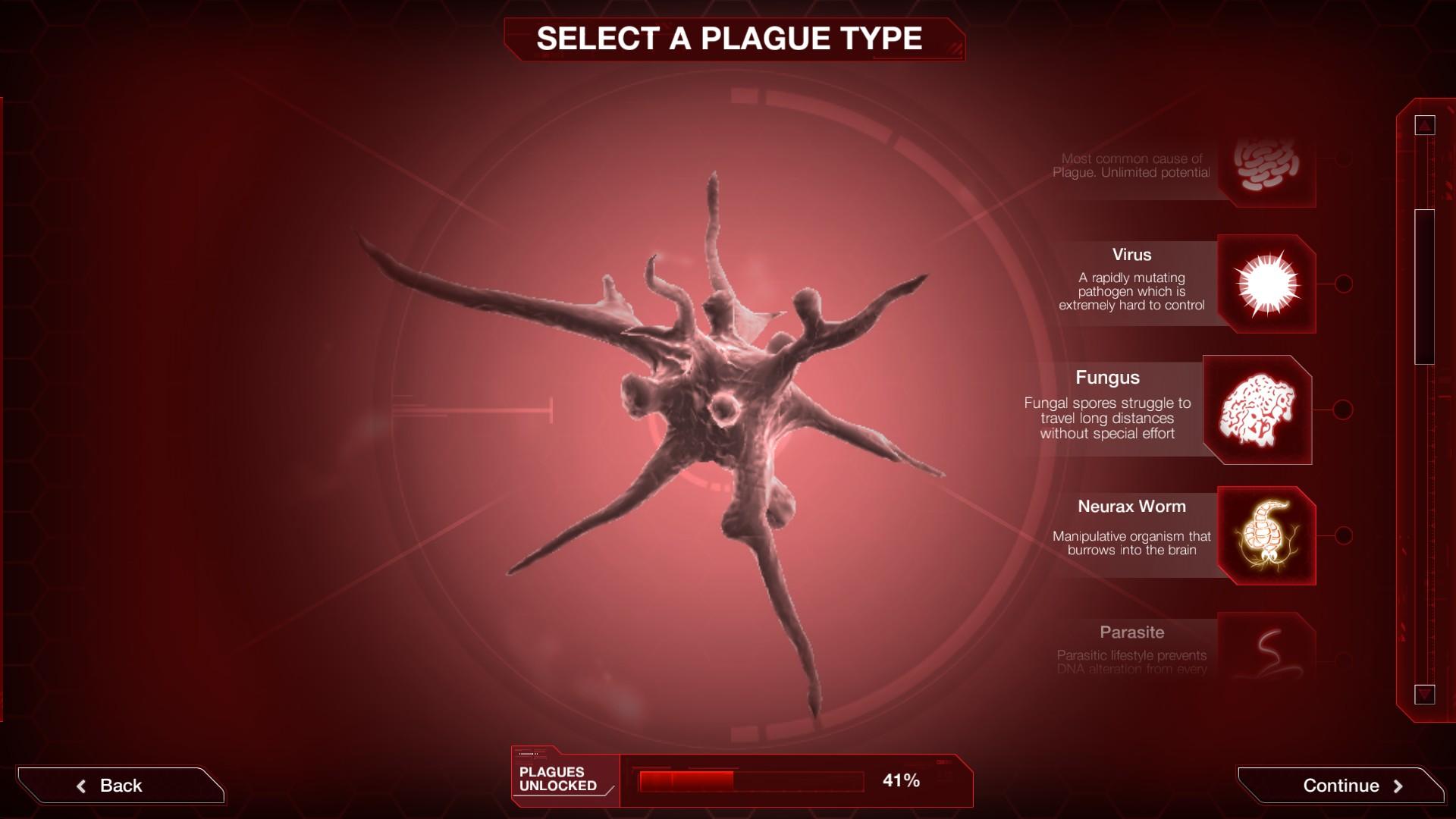 Plague inc evolved virus screenshot