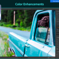 Adobe lightroom enhance colors