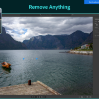 Remove something from photo adobe lightroom