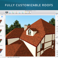 Livehome3dpro macos customize house roofs