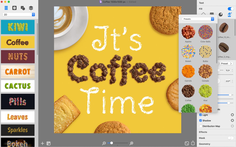 Art text 4 coffee text
