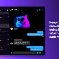 Dark mode facebook on mac