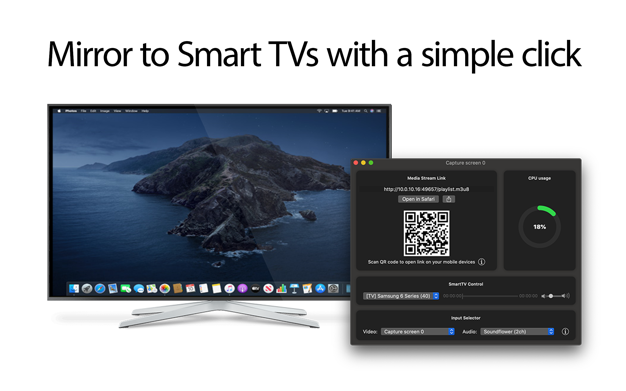 Stream imac to smarttv