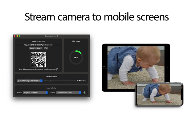Stream imac to iphone ipad