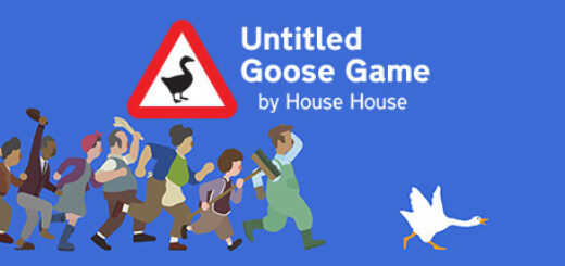 Untitled goose game official logo