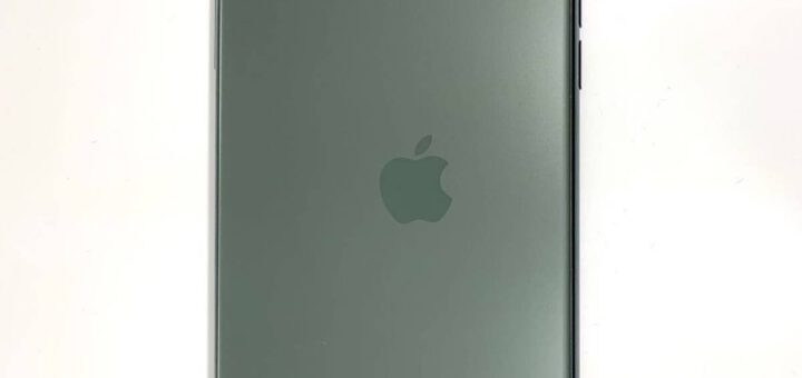 Apple also makes mistakes here s an iphone 11 with a misaligned logo 532646 2