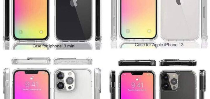 Iphone 13 case renders confirm smaller notch 533319 2